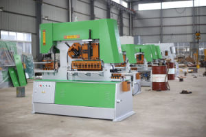 Q35y Hydraulic Punching Machine with Single Head 65t/90t/12ot pictures & photos