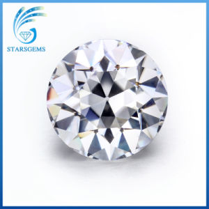 6.5mm Round Old European Cut 1 Carat Vvs Clarity Synthetic Moissanite Diamond