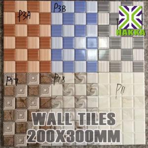 Ceramic Tiles Size 20x30 Wall Brick Tiles