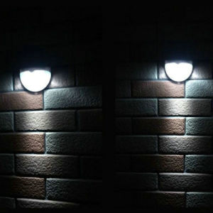 Solar Wall Lamp LED Garden Lights with Body Induction pictures & photos