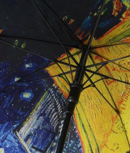 Double Layer UV Protect Straight Full Color Printed Umbrella (MP6021) pictures & photos