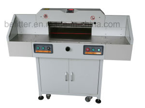 BFT-550G Program Electric Guillotine Cutter Safety Cutting Guillotine pictures & photos