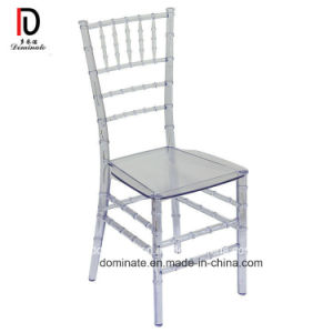 China Many Types Por Clear Pc Plastic Wedding Chairs