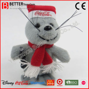 New Year Christmas Day Soft Toy Plush Rat pictures & photos