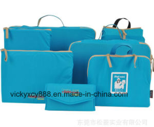 Quality Business Travel Storage Set Cosmetic Cable Bag Case (CY3702) pictures & photos