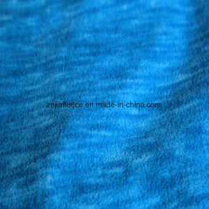 Kation Fleece, Micro Fleece with Printing Effect pictures & photos