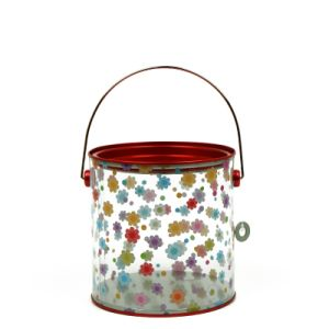 Clear Candy Tin Pails Chocolate Tin Buckets pictures & photos