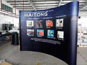 Exhibition Display Stands : China trade show exhibition magnetic pop up display stand banner