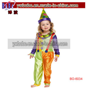 Toddler Kids Clown Fancy Dress Costume Circus Party Costumes (BO-6034) pictures & photos