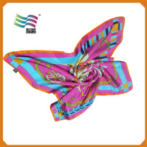 High Quality Women Acrylic Scarf with Custom Logo (AM-07) pictures & photos