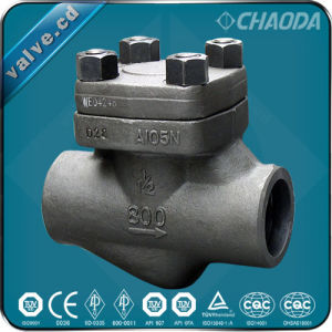API602 Forged Steel Swing Check Valve pictures & photos