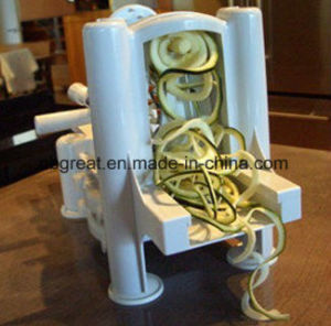 Tri-Blade Turning Spiral Slicer 3 in 1 Tri-Blade Spiralizer pictures & photos