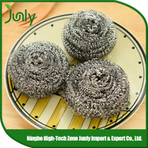 spiral Scourer Stainless Steel Cleaning Ball Steel Scourer