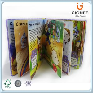 3D Lenticular Hardcover Books for Children pictures & photos