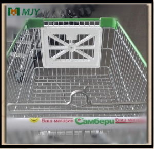 Plastic Parts Shopping Trolley Cart Front Advertising Plate Board pictures & photos