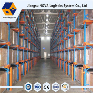 Heavy Duty Pallet Storage Warehouse Drive Through Racking pictures & photos