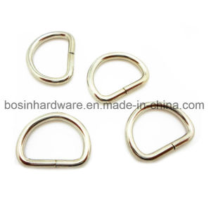Nickel Plated Steel Metal D Ring