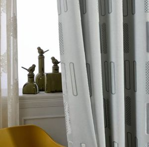 Jacquard Modern Design Polyester Curtain Home Textile pictures & photos