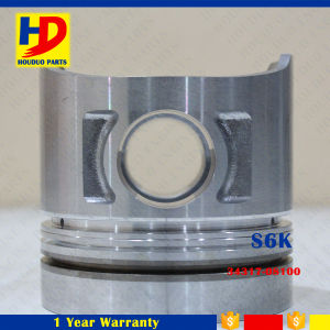 Piston Excavator Engine Spare Parts S6k Piston with OEM (34317-21100)