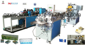 Full Automatic Hanky Tissue Folding Production Line pictures & photos