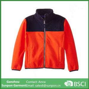 e33827c17 China Boys′ Fashionable Colorblock Micro Polar Fleece Jacket - China ...