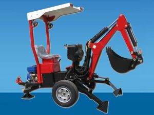 Towable Backhoe with Gasoline Engine (XL-BH-002)