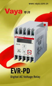 Evr-Pd Digital AC Voltage Relay