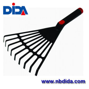 Harrow /Garden Tools/Plastic Leaf Rake (DD730)