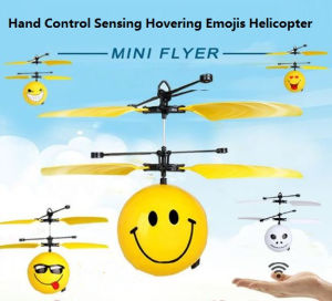 Sensing Emojis Face Facial Expression Helicopter