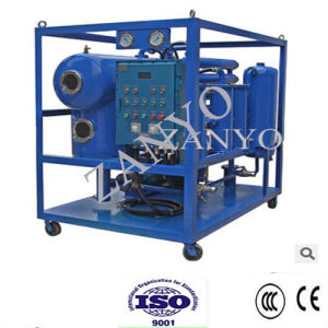 High Vacuum Transformer Oil Cleaning Machine with Functions of Dehydration, Degassing, Filtration