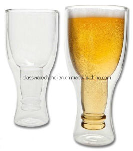 High Borosilicate Double Wall Beer Glasses (DB-DB3) pictures & photos