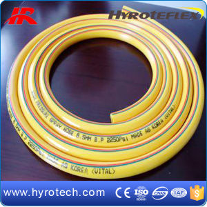 PVC Plastic Fiber Braided Water Irrigation Garden Hose pictures & photos