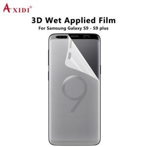 Premium 3D Nano Liquid Screen Protector Case Friendly Wet Applied Full  Screen Film for Samsung Galaxy S9