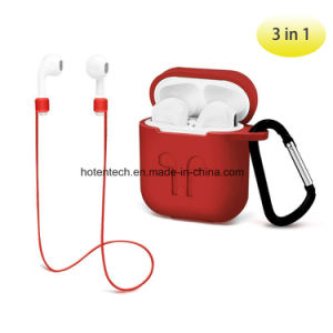 more photos d83d2 4bbe3 Airpods Protective Silicone Cover Case with Anti Lost Strap, Airpods Set  Accessories