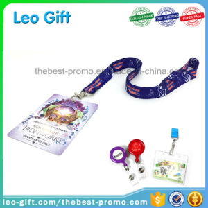 Free Sample Neck Strap Polyester Lanyard Custom with ID Holder