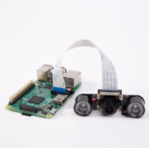 Odseven Raspberry Pi Night Vision Camera Module 5MP Ov5647 Webcam Video  1080P for Raspberry Pi 3
