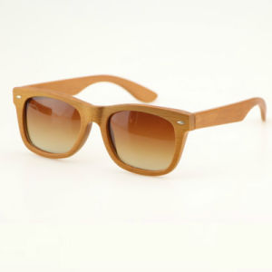 1cb7ffbbdb419 China Handmade Square Men Bamboo Sunglasses with Gradident Polarized ...