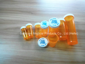 Medicine Pill Push Down and Turn Vials pictures & photos
