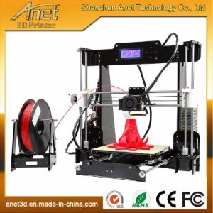 Anet 3D Printer Acrylic for Jewelry with Free ABS/PLA Filament Ce/FCC Vertification