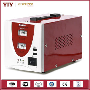 2017 Hot Sale Cheap Price Single Phase Voltage Stabilizer with Meter Display pictures & photos