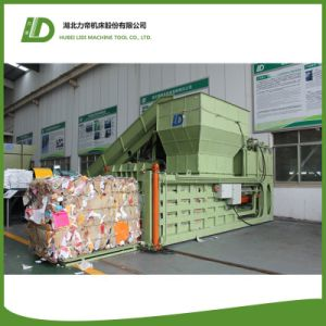 Hydraulic Waste Paper Plastic Baler for Scrap Metal Recycling
