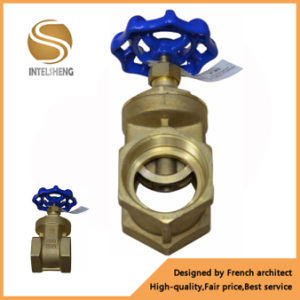 Dn15 to Dn100 NPT Brass Gate Valve pictures & photos