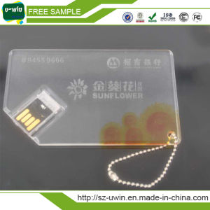 Credit Card USB/ USB Stick with Customer Photo Printing