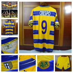 official photos abfa6 2014d Wholesale Custom 98-99 Italy Parma Uefa Cup Cannavaro Soccer Jersey Thai  Quality Soccer Team Jerseys