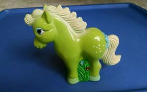 My Little Pony Bank Vintage 1984 Plastic Coin Bank Rare pictures & photos