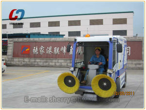 Parking Lot Automatic Floor Sweeper Machine pictures & photos
