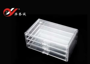 3 Layers Plastic Jewelry Display Case pictures & photos