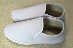 PVC Comfortable Soft Cotton Shoes (EGS-PVC-604C) pictures & photos