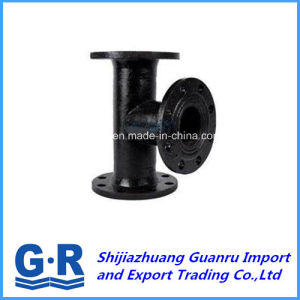 Ductile Iron Fitting with All Flanged Tee