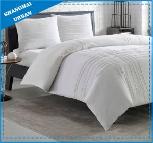 3PCS White Microfiber Comforter Bedding pictures & photos